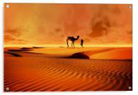 The Bedouin, Acrylic Print
