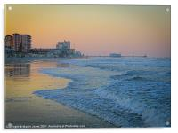 Daytona Beach, Florida, USA, Acrylic Print