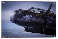 Lancaster, Phantom of the Ruhr, Acrylic Print