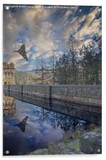 Vulcan over Howden, Acrylic Print