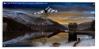 Vulcan Thunder over Howden, Acrylic Print
