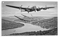 617 Squadron Homeward Bound, Acrylic Print