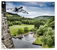 Over the Dam, Acrylic Print