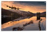 Lancaster Sunrise, Acrylic Print