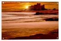 Harkess Rocks at Sunrise, Acrylic Print