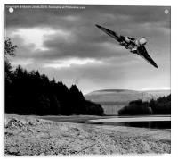 Vulcan over Derwent, Acrylic Print