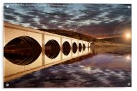 Lancasters over the Bridge, Acrylic Print