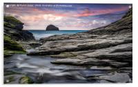 The Spectacular Rocks of Trebarwith, Acrylic Print