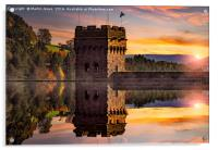 Autumn at Derwent Dam, Acrylic Print