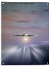 Vulcan at Dawn, Acrylic Print
