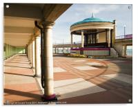 The Bandstand Awaits, Acrylic Print