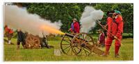 Firing The Cannon, Acrylic Print