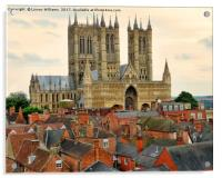 Lincoln Cathedral, Acrylic Print