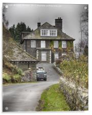 The Haweswater Hotel, Cumbria, Acrylic Print