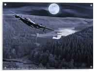 Night Training, Acrylic Print