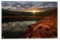 Sun Set Waters, Acrylic Print