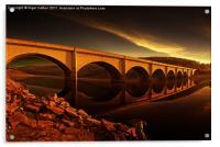 Ashopton Sun Rise, Acrylic Print