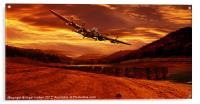 Lancaster Over Ouzelden, Acrylic Print