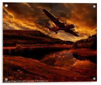 Lancaster's Return, Acrylic Print