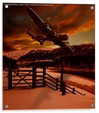 Lancaster at The King's Tree, Acrylic Print