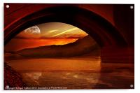 Under the Bridge, Acrylic Print