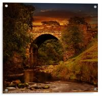 Alport Bridge, Acrylic Print