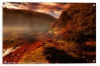 Ouzelden Brook, Acrylic Print