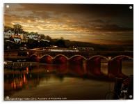 Victorian Bridge, Acrylic Print