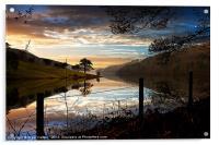 Derwent Village Reflections, Acrylic Print