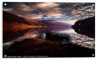 Derwent Reservoir, Acrylic Print
