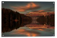 Howden Moor Reflections, Acrylic Print