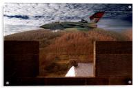 Tornado At Derwent Dam, Acrylic Print
