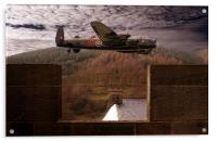 Avro Lancaster Mk1, Acrylic Print