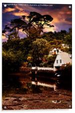 Boat House, Acrylic Print