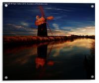 Windmill, Acrylic Print