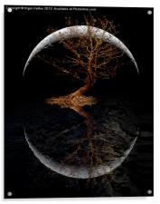 Rising Moon, Acrylic Print