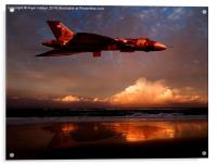 Vulcan at Sunset, Acrylic Print
