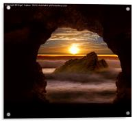 Cave Glow, Acrylic Print