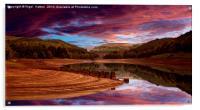 Ouzelden Sunrise, Acrylic Print