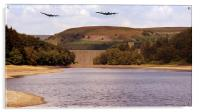Two Over Howden Dam, Acrylic Print