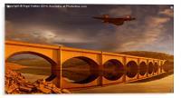 Vulcan Over Ashopton, Acrylic Print