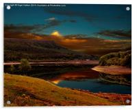 Bamford Edge Reflections , Acrylic Print
