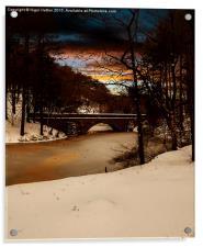 Fairholmes Bridge, Acrylic Print