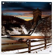 Frozen River , Acrylic Print