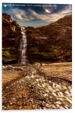 Tintagel Waterfall # 2, Acrylic Print