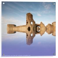 English Castle, Acrylic Print