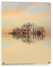 Angelic Branches, Acrylic Print