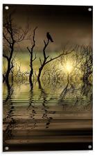 Twilight reflected, Acrylic Print