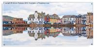 Millport Town, Acrylic Print