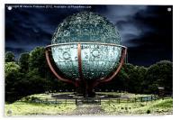 Swing Around The World, Acrylic Print